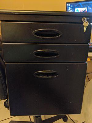 Metal locking filing cabinet for Sale in Homestead, FL