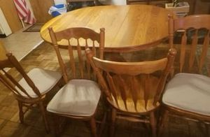 Dining table and chairs for Sale in Orlando, FL