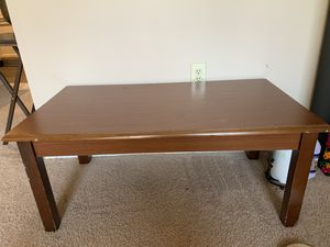 Detachable solid wood tea table - Move out sale for Sale in Morrisville, NC