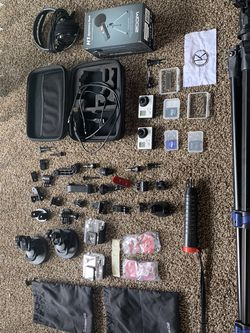 YouTuber Dream GO PRO full Set X 2 (all parts included) for Sale in Spring Valley,  CA