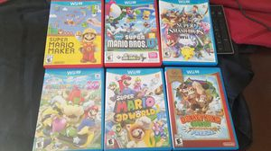Nintendo wii u Mario games for Sale in Fresno, CA