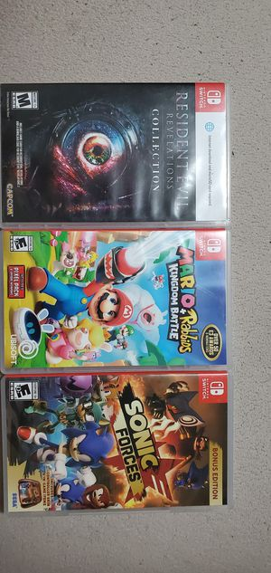 Switch games for Sale in Sheridan, CO