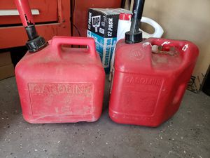 2 gas cans for Sale in Lake Elsinore, CA