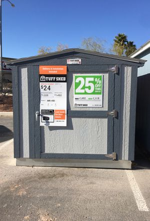 Tuff Shed FOR HOA RESTRICTION 6 wide 8 long 6 tall for Sale in North Las Vegas, NV
