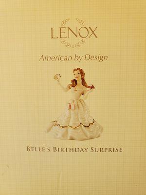 LENOX Belle's Birthday Surprise Figurine for Sale in IND HILLSIDE, NJ