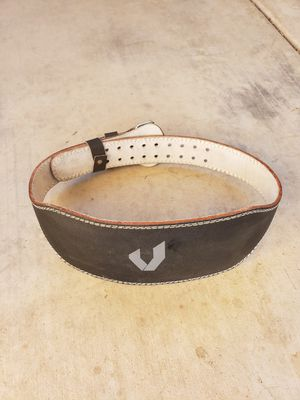 Valeo Black Leather Weight Belt for Sale in Glendale, AZ