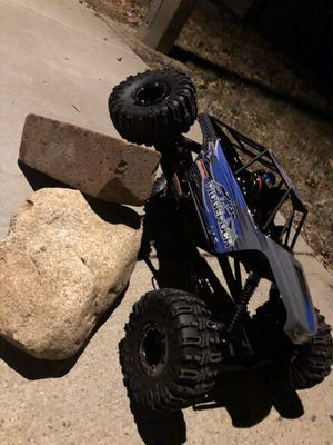 1/10 Scale Rock Crawler -4 wheel steering, LED Lights and lLight Bar -READY TO RUN for Sale in March Air Reserve Base, CA