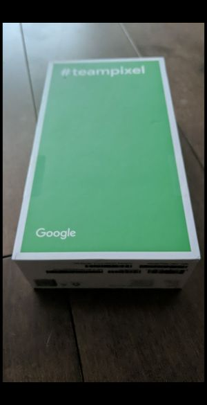 Brand new sealed Google pixel 3 64GB black Unlocked for Sale in Hyattsville, MD