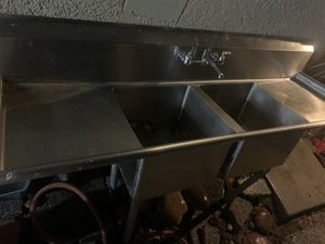 Restaurant Industrial size sink for Sale in North Las Vegas, NV
