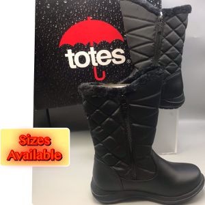 Totes Women's Waterproof Snow/rain Mid calf Boots for Sale in Red Bank, NJ