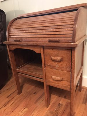 Roll-top, oak desk, child-size. Excellent condition. Pick up in Magnolia Springs. $50 for Sale in Foley, AL