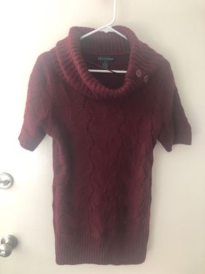 Burgundy tunic/sweater dress for Sale in Los Angeles, CA