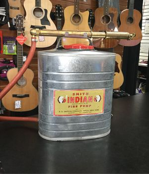 Smith Indian fire pump for Sale in Pomona, CA