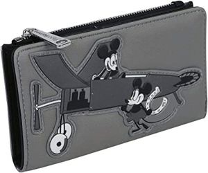 Mickey Plane Crazy Wallet- Loungefly for Sale in West Covina, CA