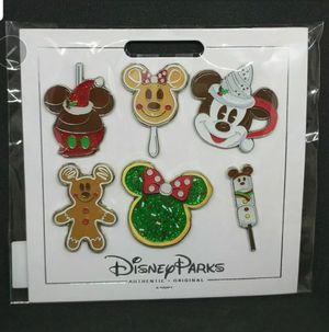Disney Parks Christmas Holiday Park Foods Treats Booster 6 Pin Set for Sale in Los Angeles, CA