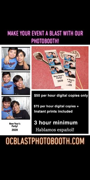 Event Photobooth for Sale in Irvine, CA