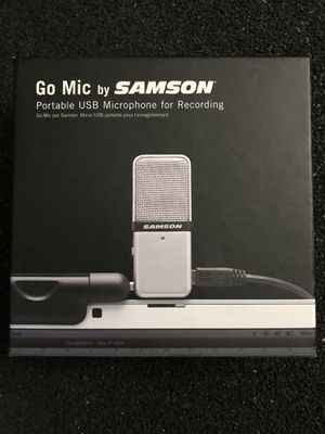 Go mic by Samson portable usb microphone for recording for Sale in Culver City, CA