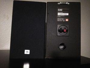 Jbl G40 speakers 8 ohms sound great for Sale in Phoenix, AZ