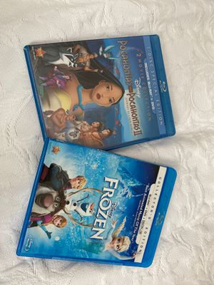 10$ PER ITEM. Pocahontas I &II / Frozen. BRAND NEW! Both movies also come with NO slip cover. for Sale in Baldwin Park, CA