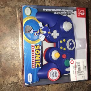 nintendo switch pro controller (sonic) for Sale in Sterling Heights, MI