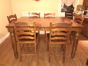 Beautiful bar height dining room table for Sale in Corona, CA