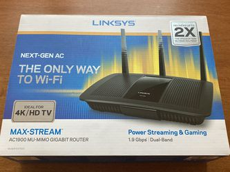 Linksys AC1900 Router for Sale in Portland,  OR