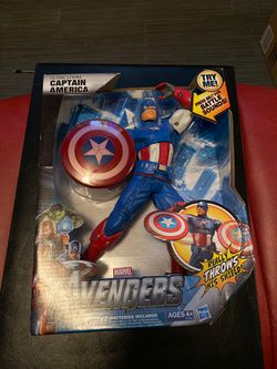 Captain America Figure for Sale in Ceres,  CA