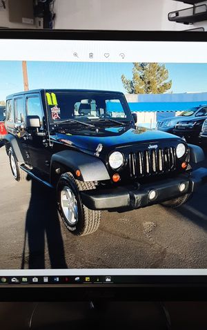 2011 Jeep Wrangler Unlimited Buy Here-Pay Here!! No credit check!! for Sale in Phoenix, AZ