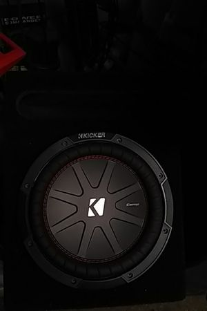 """10"""" kicker comp r duel voice coil sub woofer for Sale in Lodi, CA"""