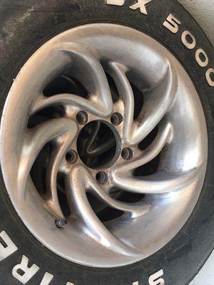 Aluminum wheels 5x5.5 for Sale in Pompano Beach, FL