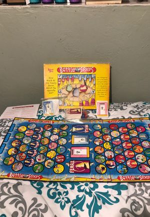 Battle of the sexes board game never used $15 for Sale in Miami, FL