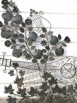 Vintage Music Metal Wall Hanging for Sale in Whittier,  CA