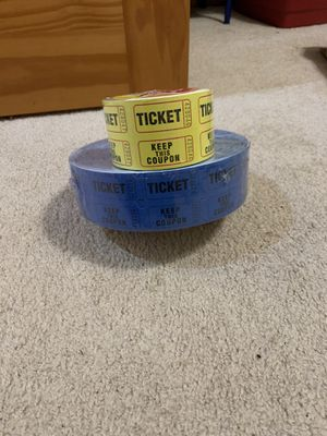Raffle tickets for Sale in Carol Stream, IL
