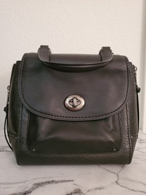 Coach Black Leather Crossbody/Backpack for Sale in San Diego, CA