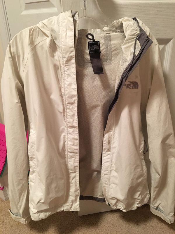 Women's Authentic North Face Rain Jacket- M