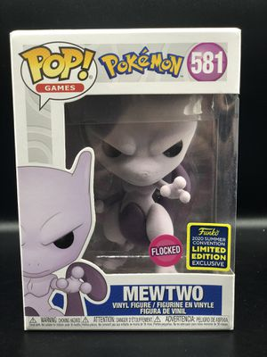 Funko Pop MewTwo Flocked SDCC 2020 for Sale in Linden, NJ