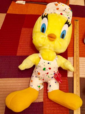 Tweety the painter stuffed plush collectable for Sale in Fort Lauderdale, FL