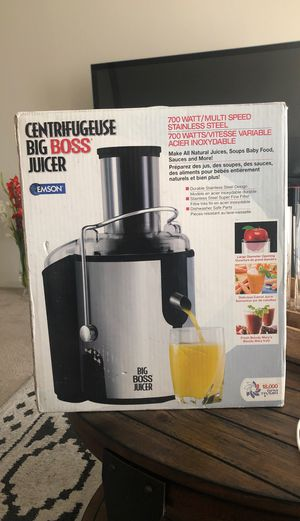 Centrifugeuse Big Boss Juicer for Sale in Los Angeles, CA