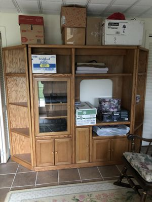 Entertainment center for Sale in Amherst, VA