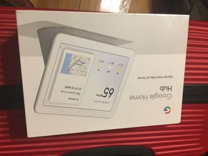 GOOGLE HOME HUB (Brand New in Sealed Box) for Sale in Chicago, IL