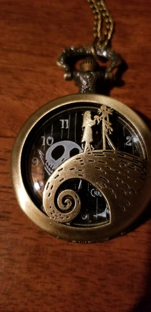 Nightmare before Christmas Pocket Watch for Sale in Belleville, IL