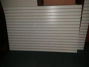 8ft slatwalls $65 each for Sale in Phoenix, AZ