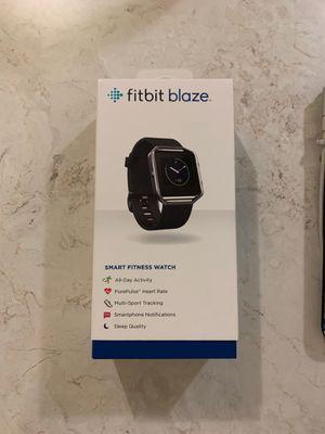 Black Fitbit Blaze for Sale in Tacoma, WA