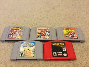 Nintendo 64 Games for Sale in Brandon, FL