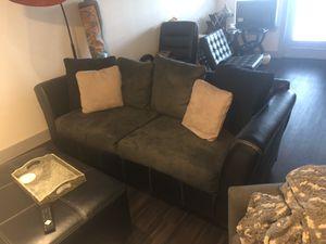 Black and Gray Sofa for Sale in Dallas, TX