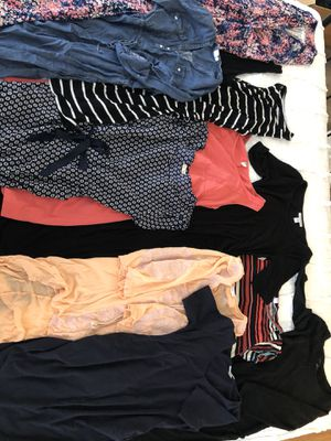 Lot of 11 maternity dresses- Gap, Jessica Simpson, motherhood and more! Size medium like new for Sale in Tamarac, FL