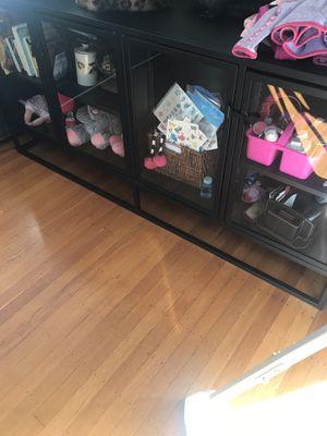 Black storage shelves for Sale in Berkeley, CA