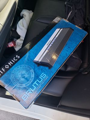 Brand new hifonics amp for Sale in Tracy, CA