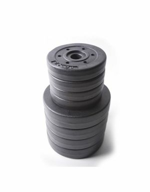 2x 25 weight plates for Sale in NEW CARROLLTN, MD
