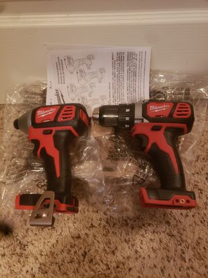 Milwaukee M18 Drill/Driver and Impact for Sale in Pearland, TX